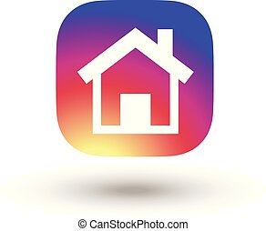 Home icon instagram