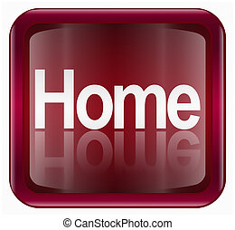 home icon, isolated on white background