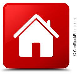 Home icon red square button