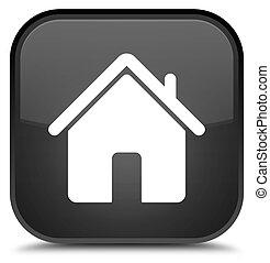 Home icon special black square button