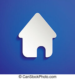 Home icon vector eps10