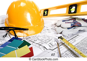 Stock image of home improvement, construction or remodeling concept