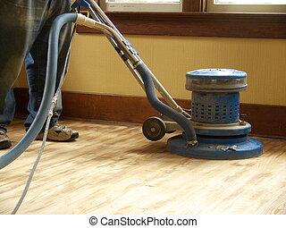 home improvement - hardwood floor sanding and refinishing