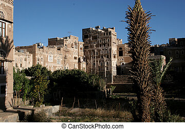Home in Old Town, Sanaa, Yemen