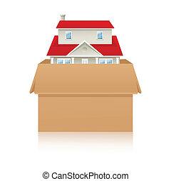 home inside box
