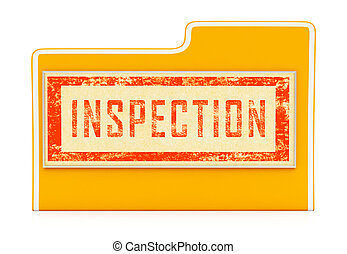 Home Inspection Report Folder Shows Property Condition Audit...