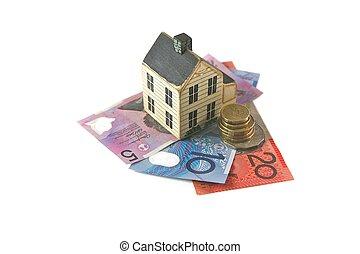 Home Loan - Australian Dolor for a House Loan, Spending or...