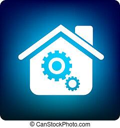 home logistics - tool inside the house