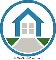 Home Logo. - Home sign and symbol logo vector.
