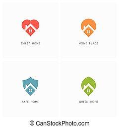 Home logo set