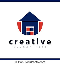 home logo vector template