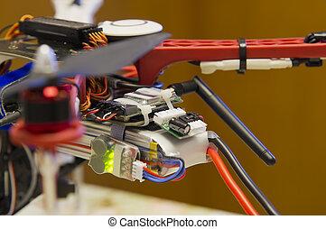 home made drone details