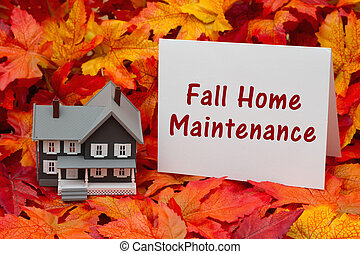 Home maintenance for the fall season