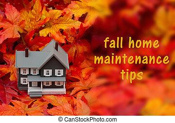 Home maintenance tips for the fall season