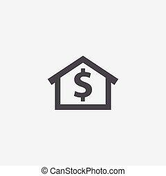 home money icon.