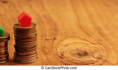 Home mortgage concept