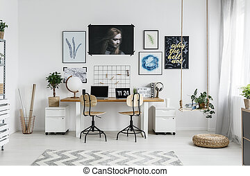 Home office interior