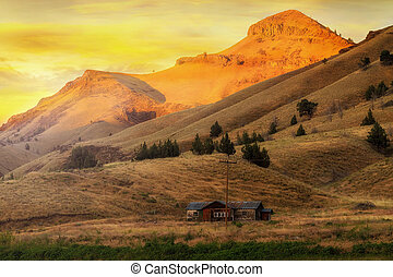 Home on the Range in Antelope Oregon