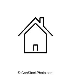 Home outline icon