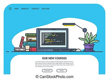 Home page for site