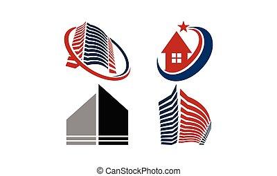 Home Real Estate Set