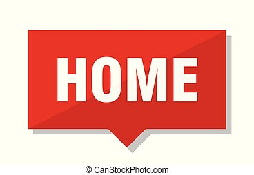 home red tag