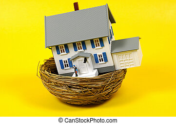 Refinance - Home Refinance Concept