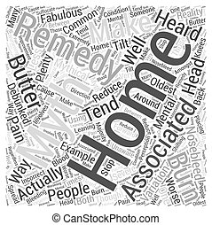 Home Remedy Myths Debunked Word Cloud Concept