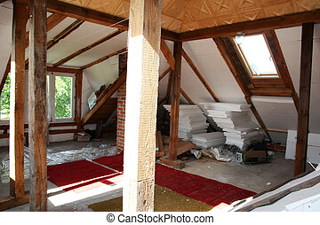 Home renovation (attic)