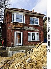 Home renovation exterior