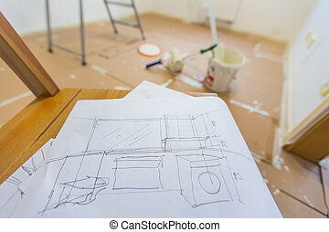 home renovation - Planning to renovate and paint home