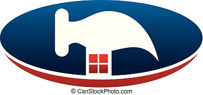 Home repair Logo Design Template Vector