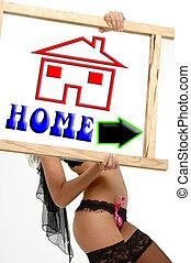 Home return button