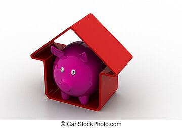 Home savings concept