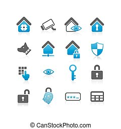 Home security concept icon