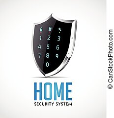 Home security system - access controller as protection...