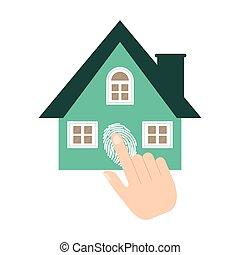 home security system fingerprint