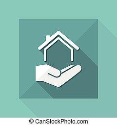 Home services - Vector icon
