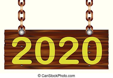 Home Sign 2020 New Year