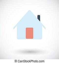 Home single icon.