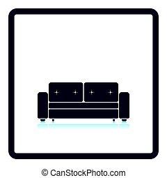 Home sofa icon