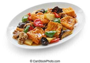 home style bean curd (tofu)