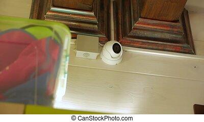 Home Surveillance Camera - Home surveillance camera indoors ...