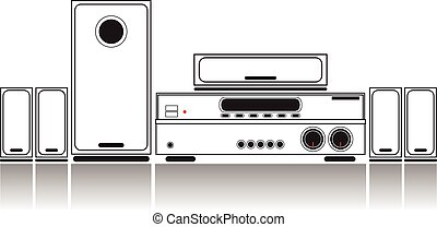 Home Theater System.