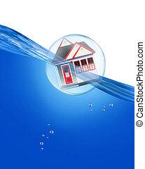 Home Under Water.