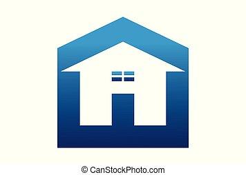 home up arrow logo vector