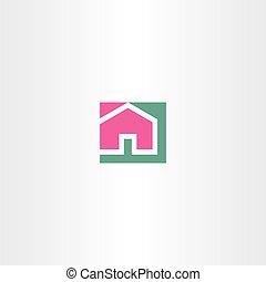home vector sign symbol icon