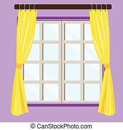 Home Window View - Home window view background