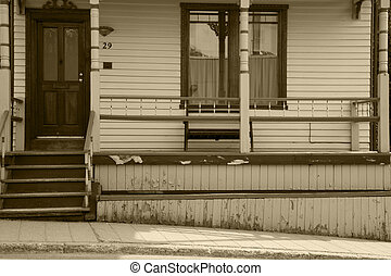 Home with Front Porch