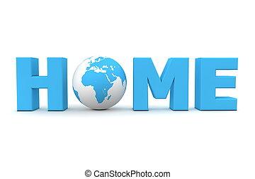 Home World Blue